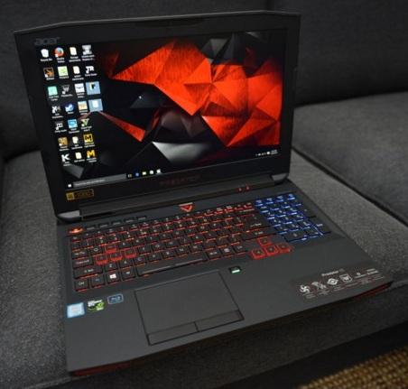 Harga Laptop Gaming Acer Predator 15 Tahun 2017 Lengkap Dengan Spesifikasi, VGA Nvidia Geforce GTX 970M VRAM 3GB 1280 CUDA Core Speed 924 MHZ