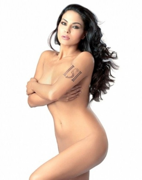 Star Girl Hot Veena Malik Fhm Topless Magazing Picture-5795