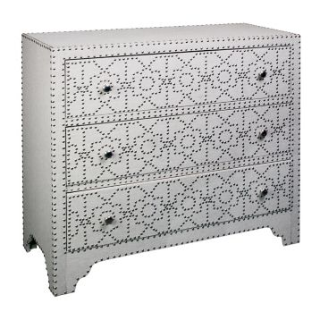 Copy Cat Chic Bernhardt Interiors Cabrillo Nailhead Chest