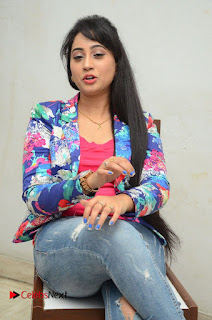 Television Anchor Actress Ashwini Pictures in Jeans at Iddharam Audio Launch  0044