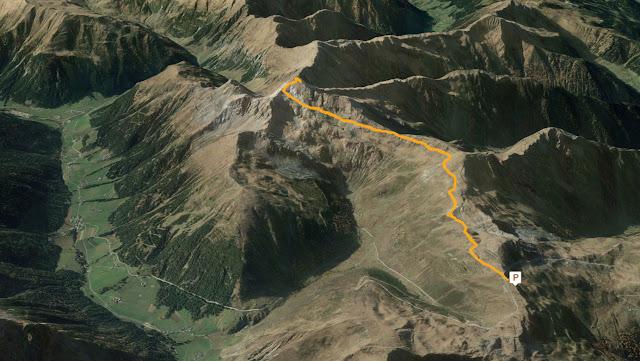 GPS Corno Bianco di Sarentino