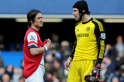 I See How Much Rosicky is Respected at Arsenal - Petr Cech