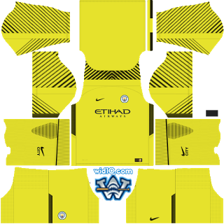 manchester city dream league fts 2018 2019 kit forma and logo keeper