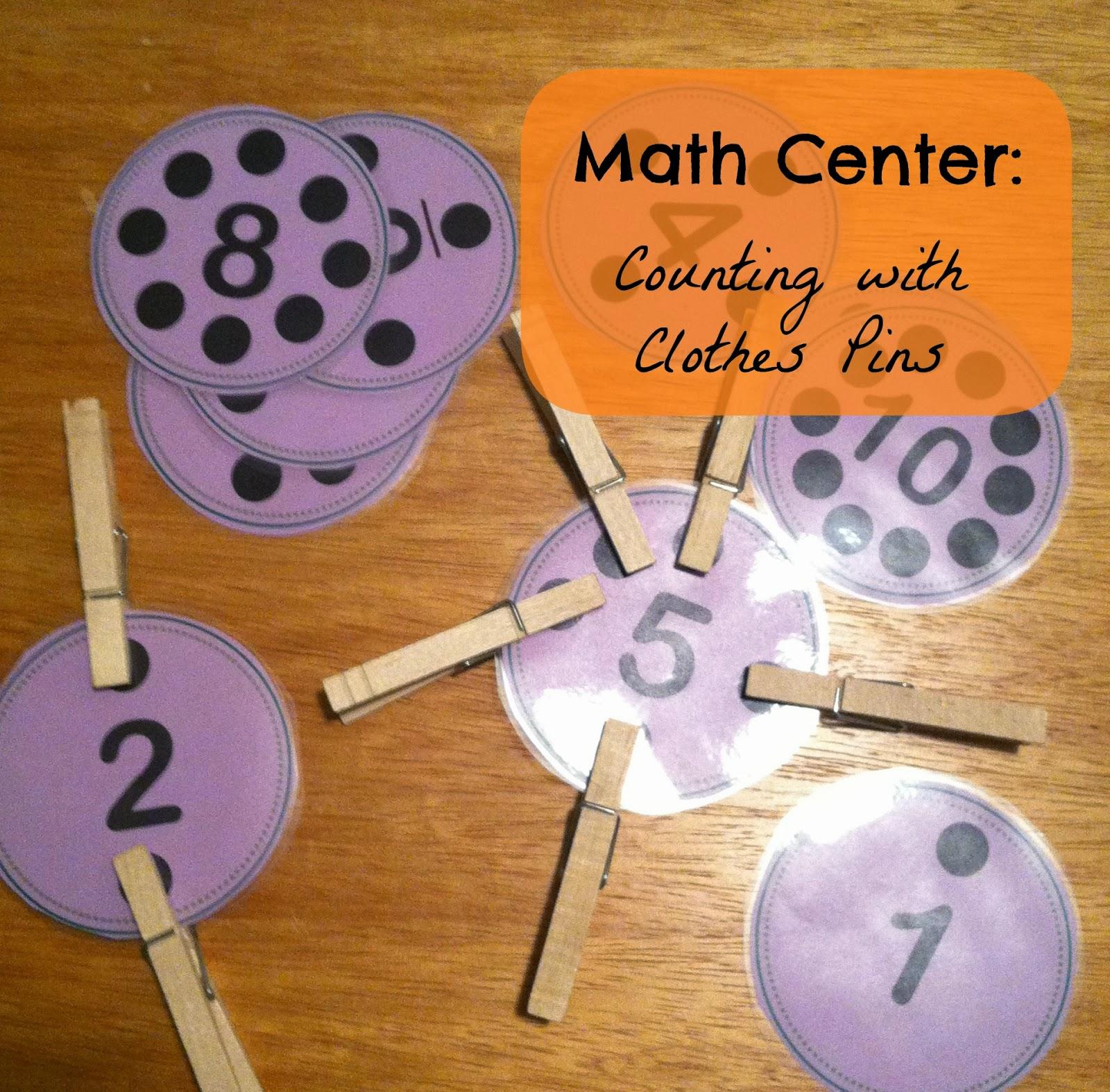 Little Miss Kim S Class Math Center Freebies Numbers