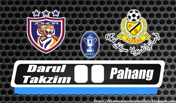 Live Streaming Liga Super 2017 JDT Vs Pahang [3/Mac/2017]