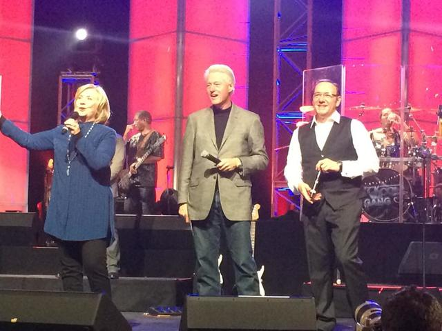 kevin spacey and the clintons
