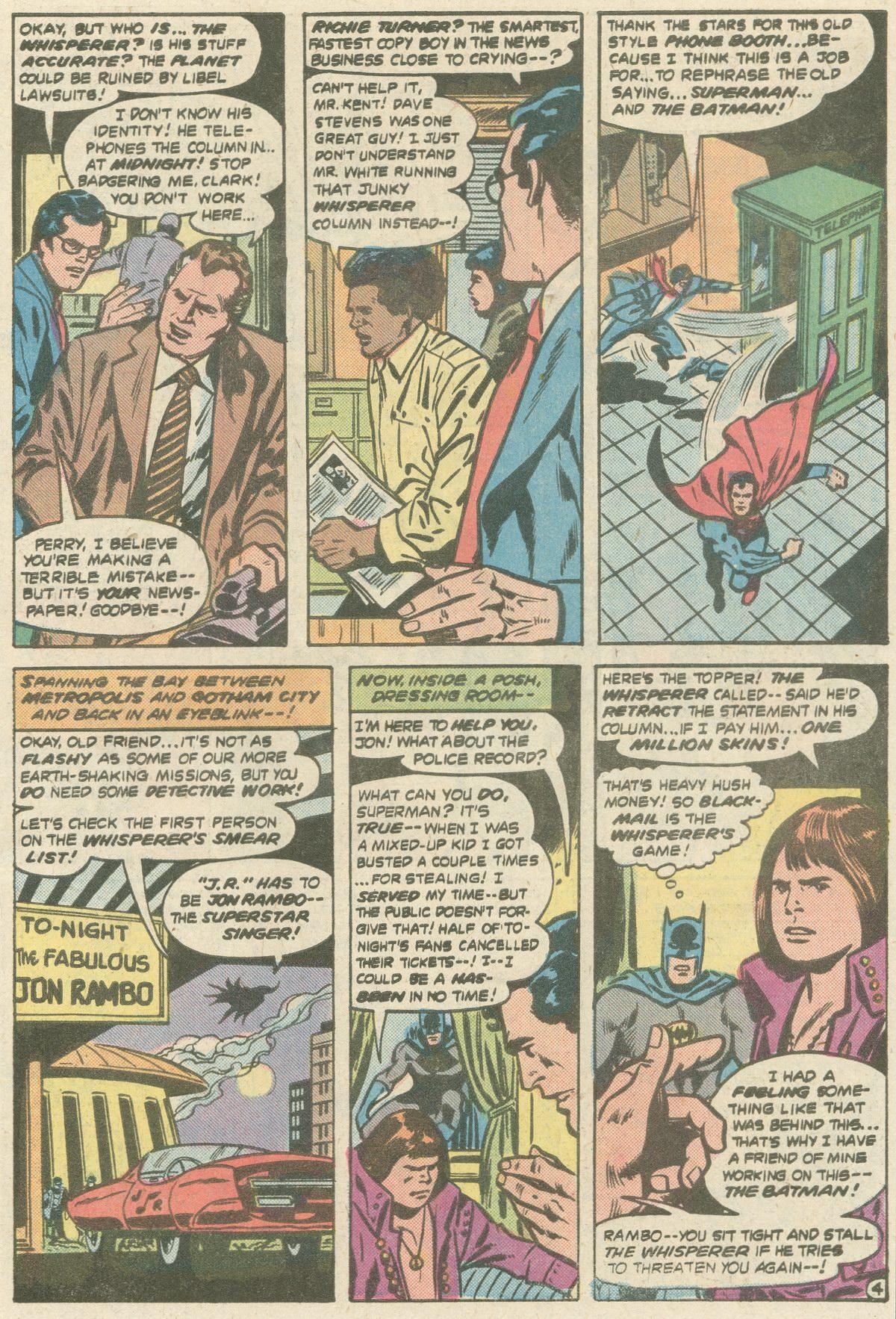 Read online World's Finest Comics comic -  Issue #252 - 8