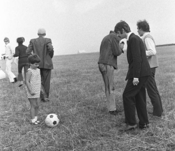Image result for The Beatles and Football