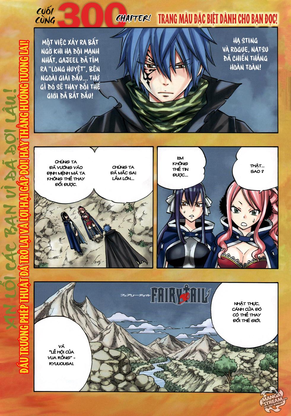 Fairy Tail chap 300 trang 1