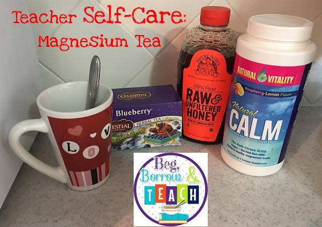 Teacher Self-Care: Magnesium Tea