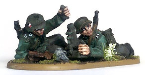 Warlord Games 28mm German Light Mortar Team