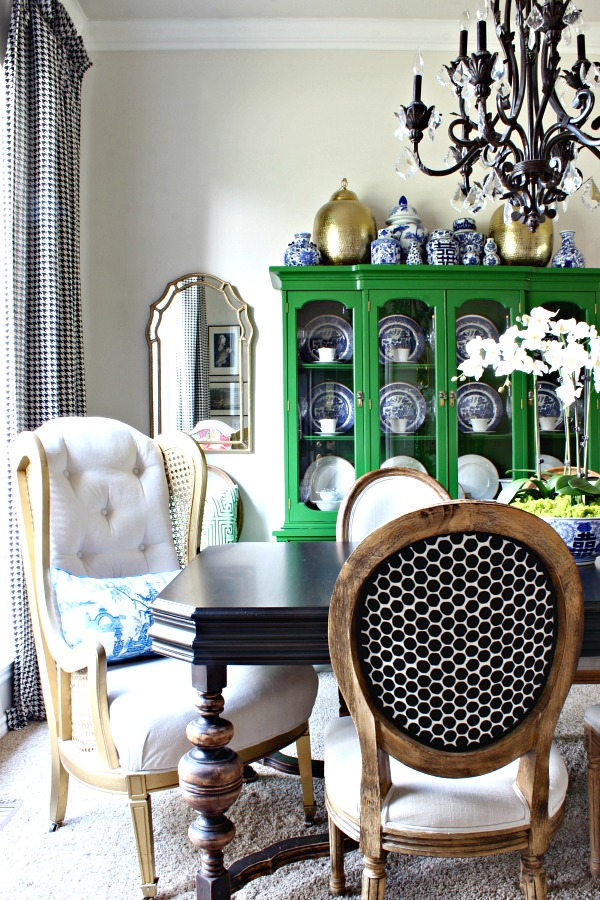 dimples and tangles: dining areas switch up shop the house!