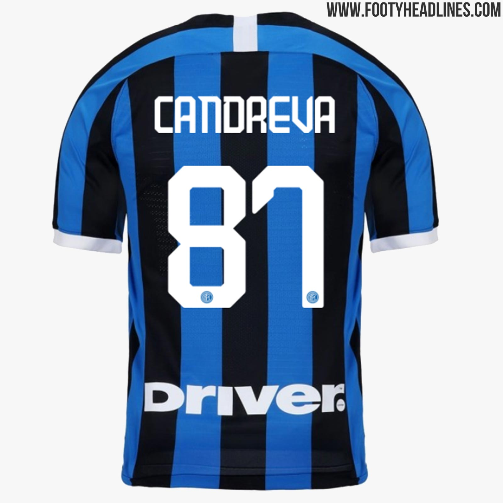 buy online bf1e4 60a1a Nike Inter Milan 19-20 Kit Font Released - Footy Headlines