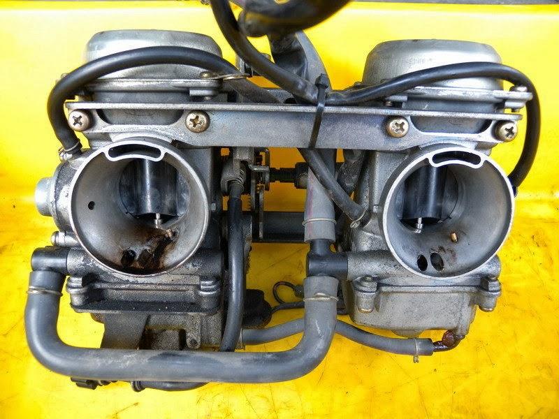 大武車工場: 02年 Kawasaki W650 燃油系統整理