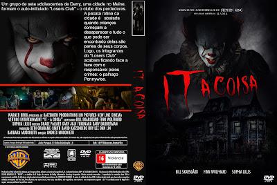 Filme It - A Coisa (It) DVD Capa