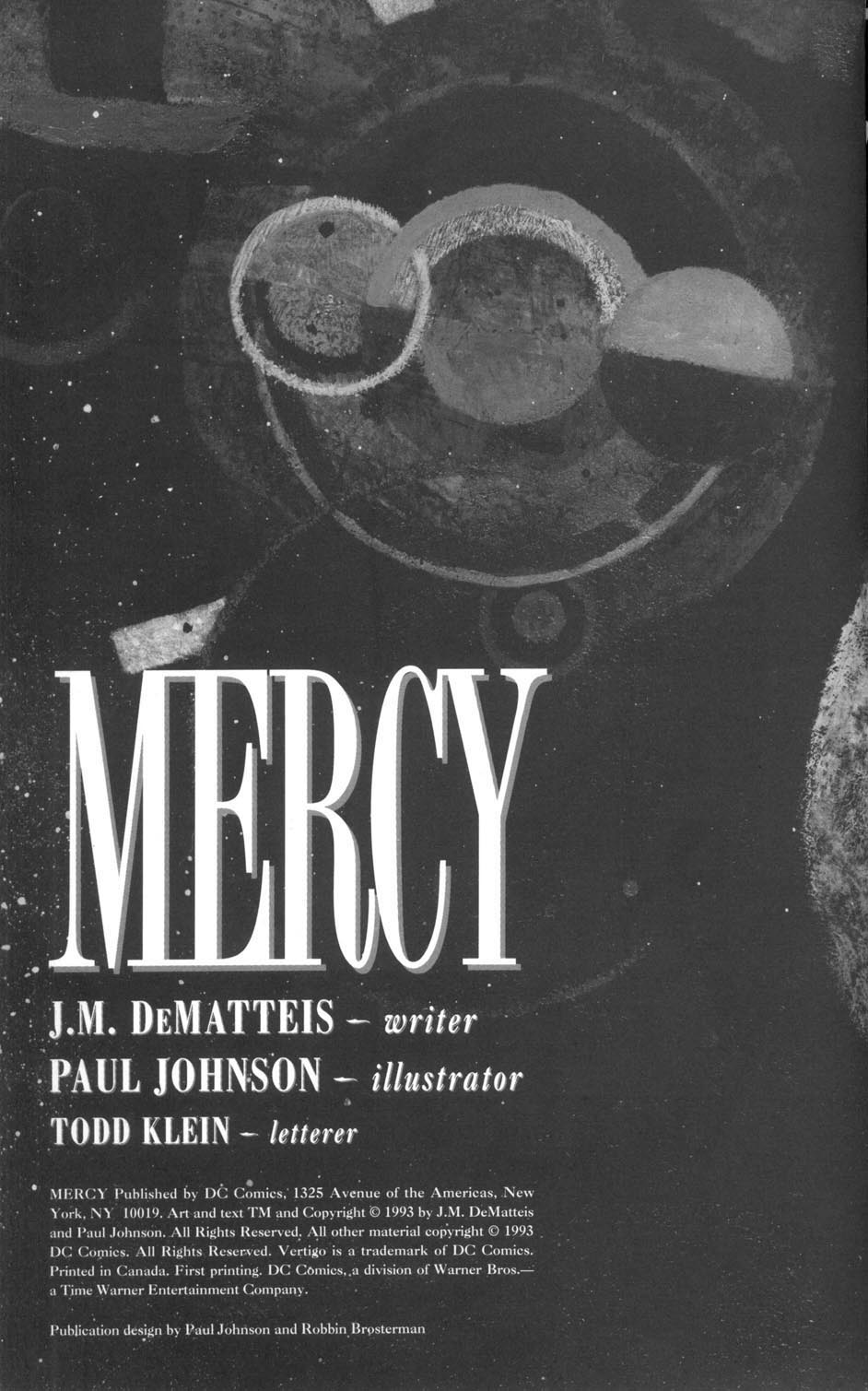 Read online Mercy comic -  Issue # Full - 2
