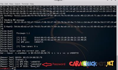 Hack wifi di kali linux berhasil