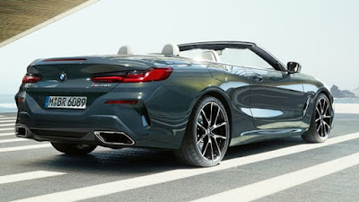 Peeping Face Of The Newest BMW 8 Series