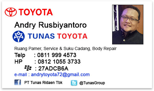 Rekomendasi Sales Tunas Toyota Jakarta Timur