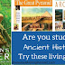 Living Book Resource List for Ancient History