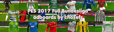 PES 2017 Full Bundesliga Adboards Pack by Chosefs Season 2016/2017