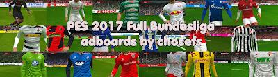 PES 2017 Full Bundesliga Adboards Pack by Chosefs Season 2016/2017