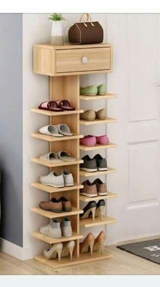 04 Rak sepatu di dinding