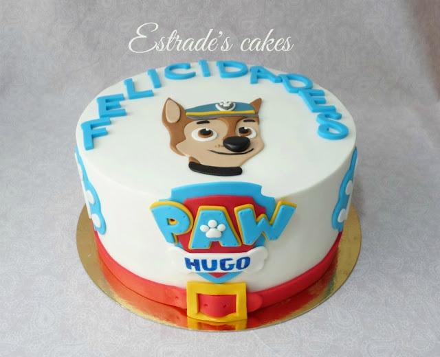 tarta de la Patrulla Canina 1