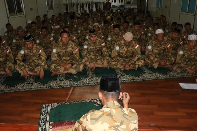 Pasukan Garuda Misi PBB Peringati Maulid Nabi Muhammad SAW di Afrika