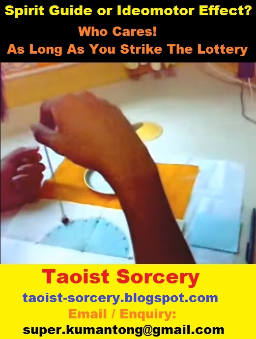 TAOIST SORCERY: Spirit Guide or Ideomotor Effect? Who Cares