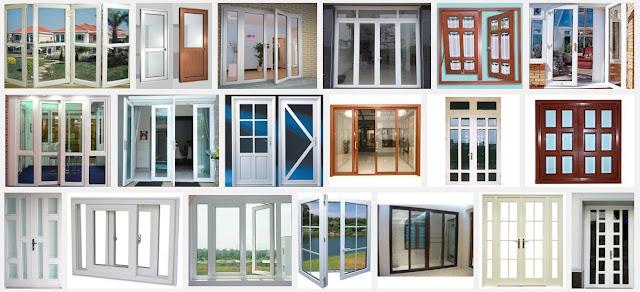 Các loại cửa nhôm kính được sử dụng nhiều hiện nay