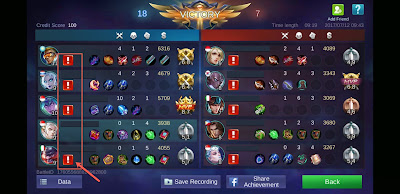 Cara Report Pemain di Mobile Legends (AFK, CHEAT, BAHASA)