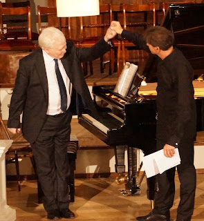 Graham Johnson and Robert Holl at the Oxford Lieder Festival
