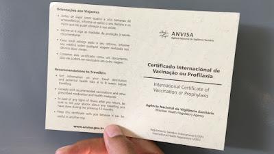 Cotia: Dose padrão da vacina contra Febre Amarela é aplicada em quem tem viagem marcada