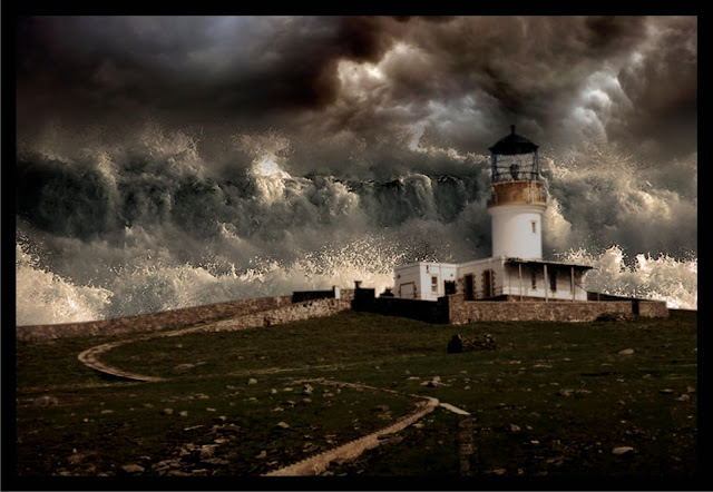 El faro en Eilean Mor