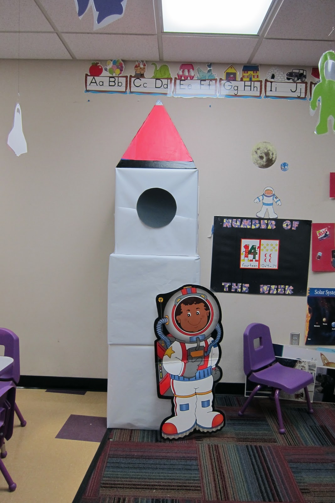Kindergarten Classroom: Mrs. Karen's Preschool Ideas: Let's Fly To The Moon (or