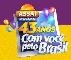 Cadastrar Promoção Assaí Atacadista 2017 Aniversário 43 Anos 3 Milhões Prêmios