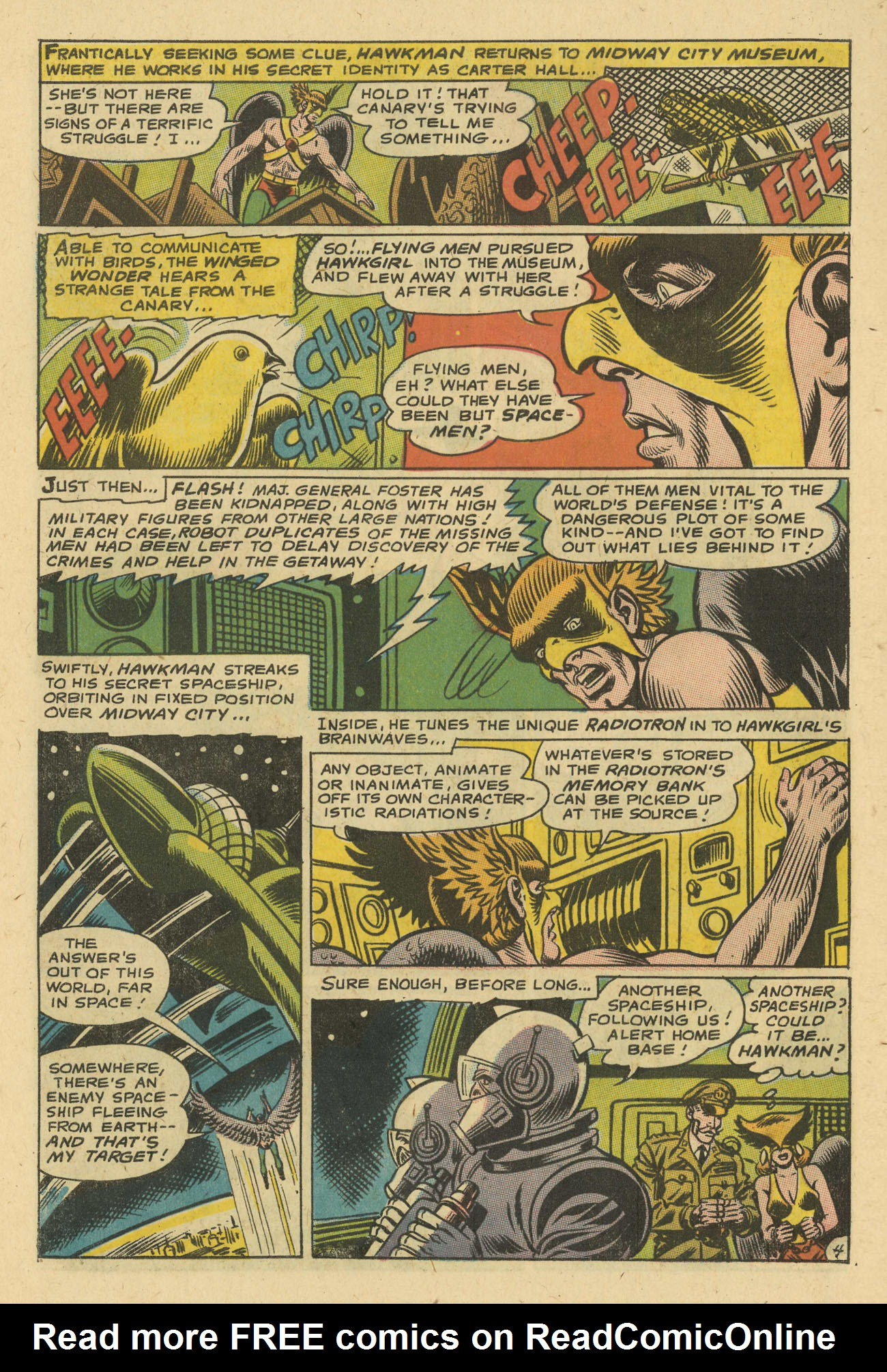 Hawkman (1964) issue 24 - Page 6