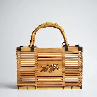 Tas Dari Bambu Unik