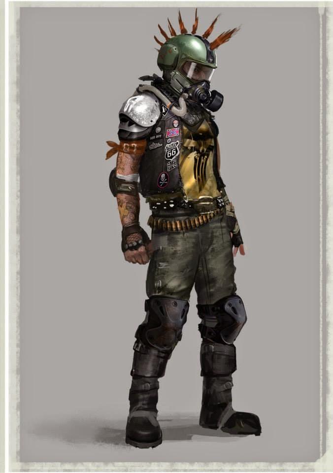 Fallout 4 raider cosplay
