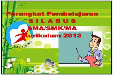 administrasi pembelajaran Silabus jenjang SMA/SMK Kurikulum 2013