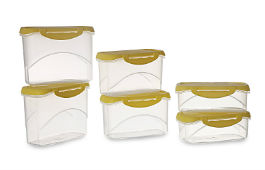 All Time Plastics Container Set of 6 For Rs 134 (Mrp 745) at Amazon deal by rainingdeal.in