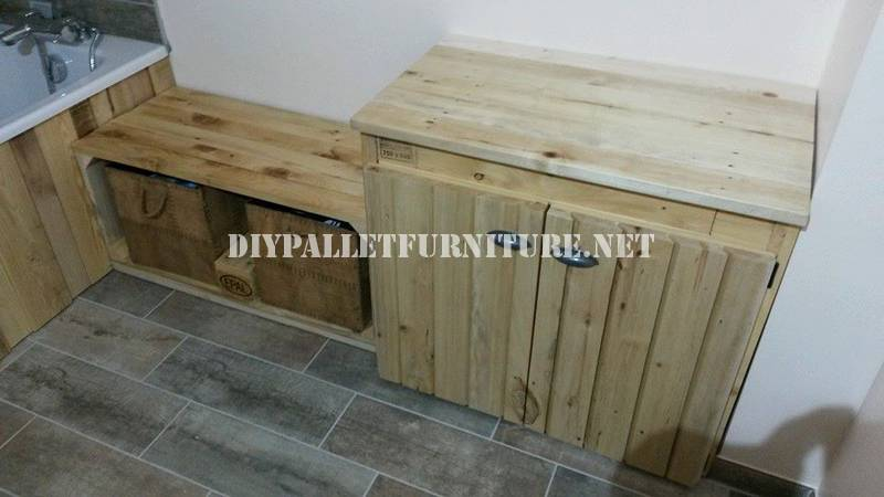 Armarios hechos con palets ms de ejemplos de muebles Armarios hechos con palets