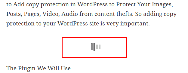 auto load content in WordPress