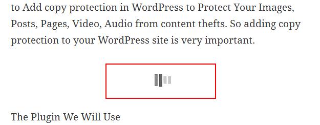 auto load content in WordPress