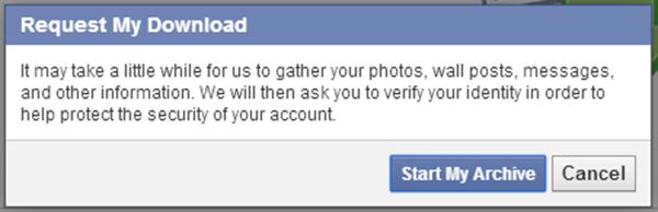 Hướng dẫn tìm lại tin nhắn bị xóa ở facebook