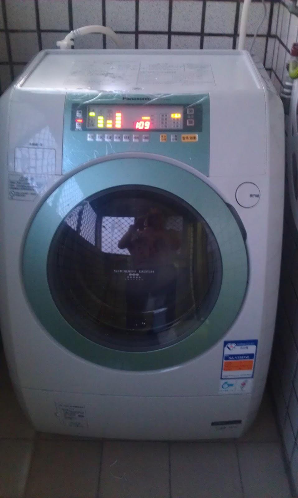 Mi Familia: Panasonic NA-V158TW 14kg 滾筒洗衣機