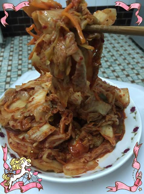 充滿風味的韓式泡菜