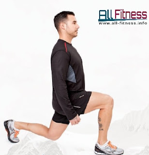 Lunges  Muscles worked: All Fitness ALLFITNESSE