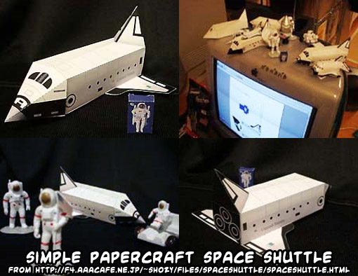atlantis space shuttle papercraft - photo #21